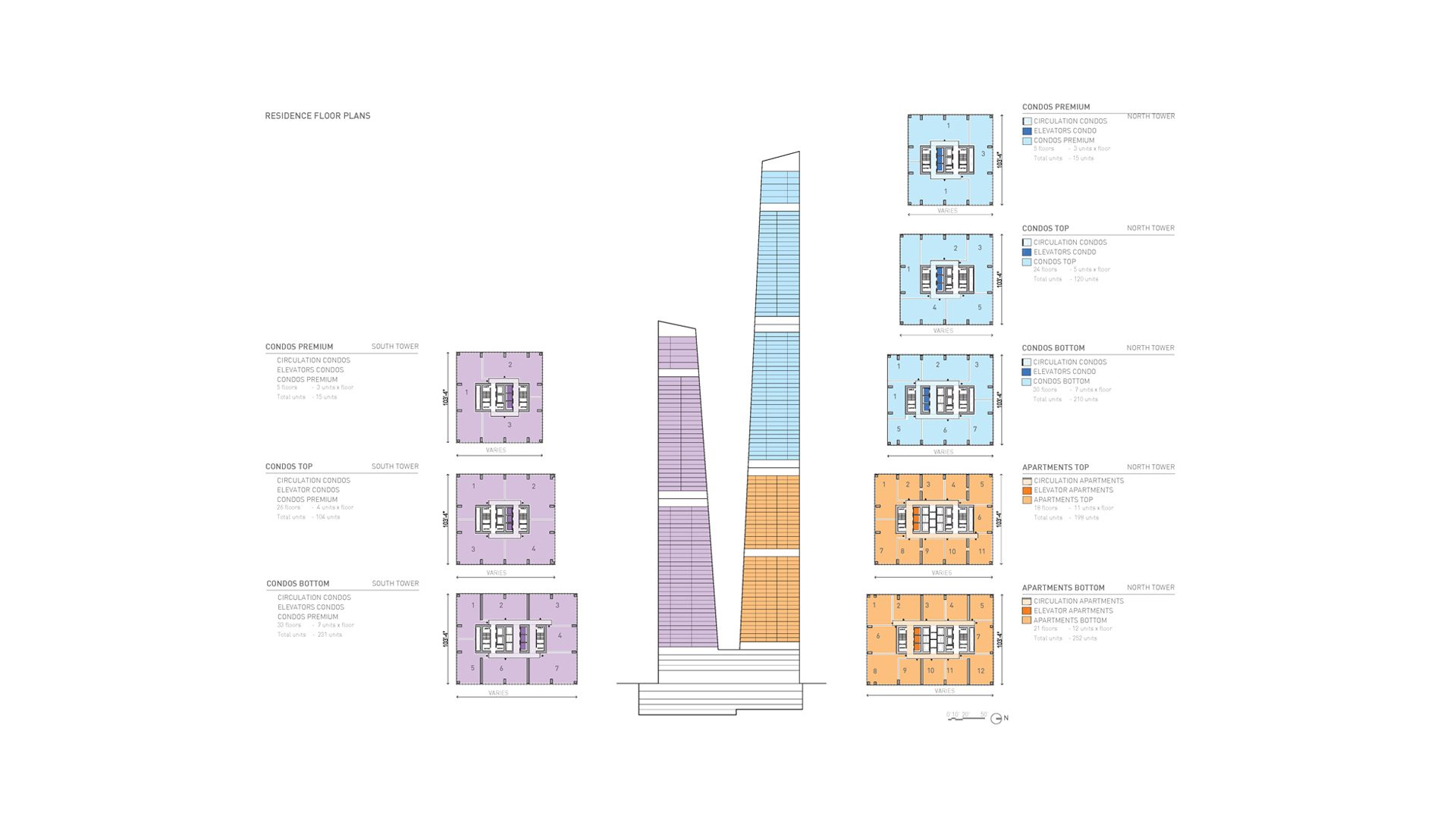023_Typical Floor Plans + Sections