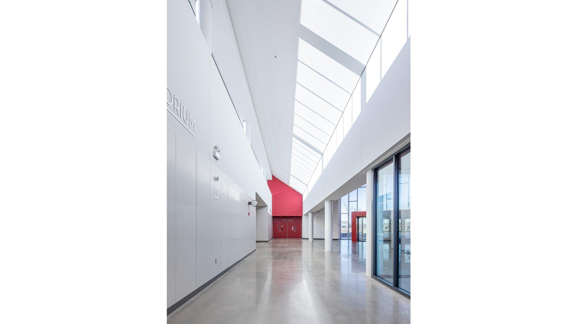 RD_Gym-Cafe Corridor