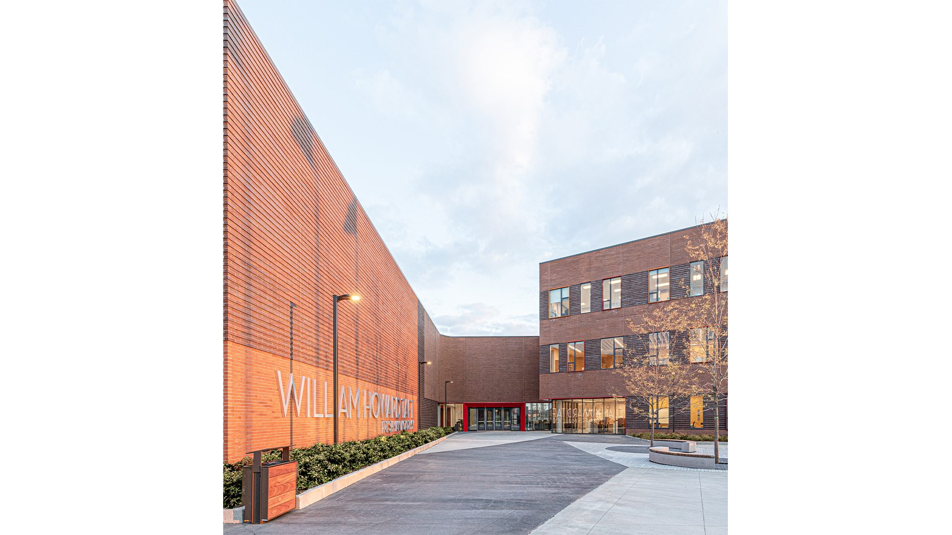 Taft Freshman Academy_North Plaza