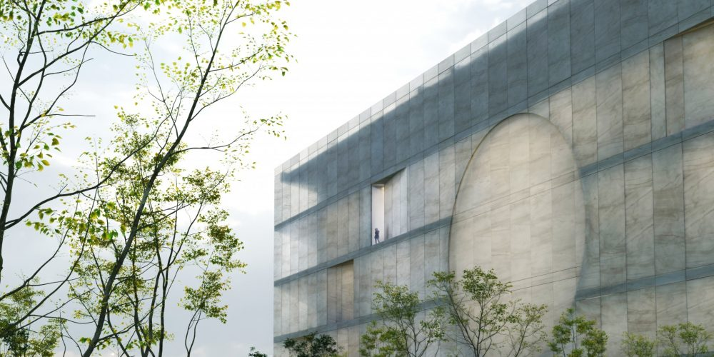 Gwangju Korea Library