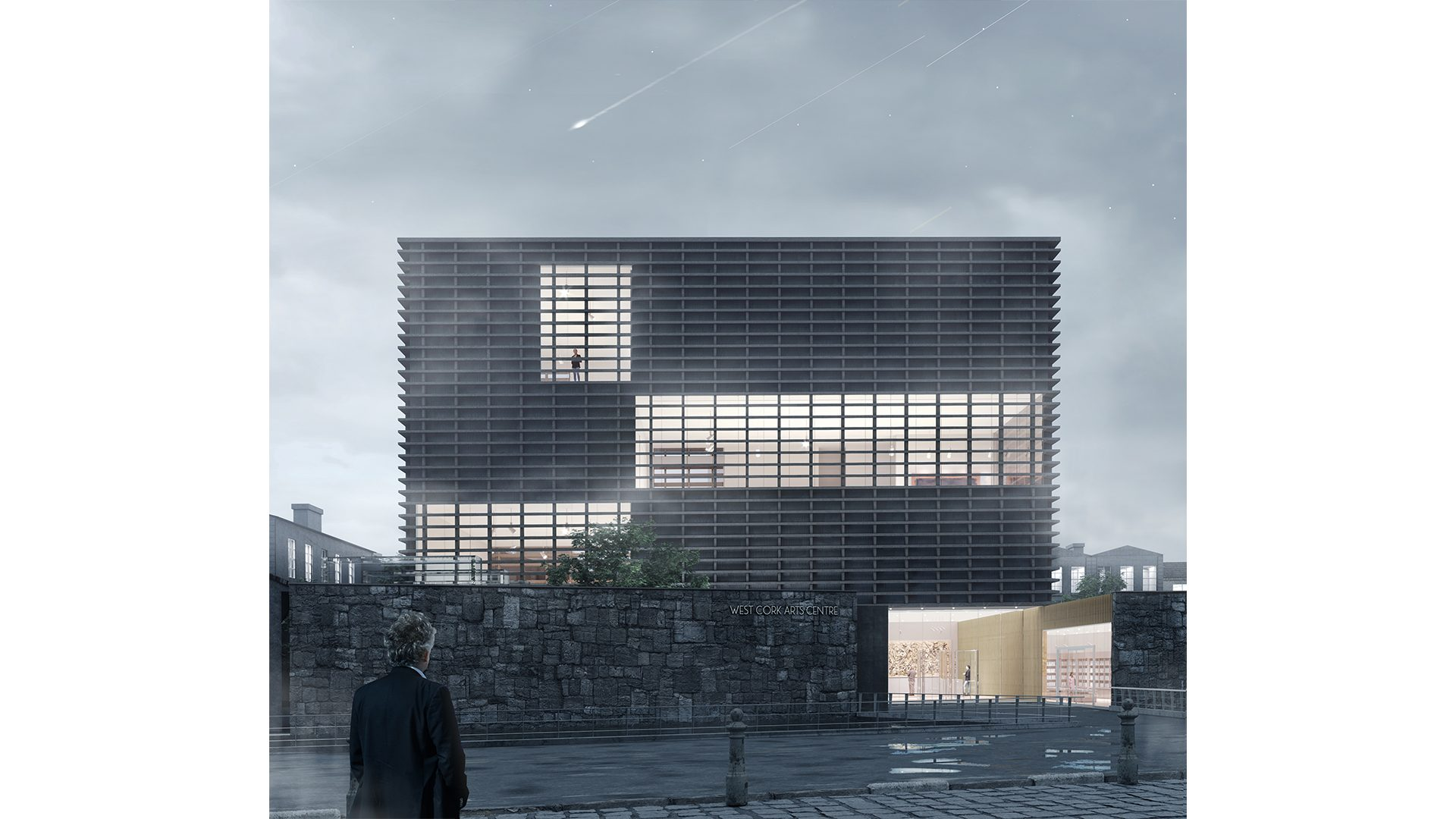 West Cork Art Centre_Exterior Night